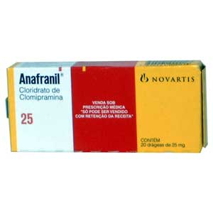 Anafranil 25 Mg Dosage