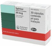Spiriva for emphysema treatment